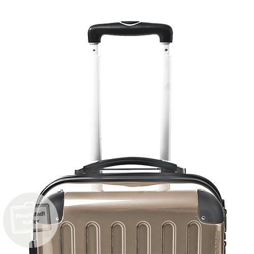 preiswerter koffer alex 3er set champagner hochglanz. Black Bedroom Furniture Sets. Home Design Ideas