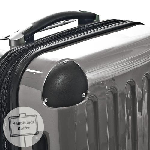 preiswerter koffer alex 3er set titan hochglanz. Black Bedroom Furniture Sets. Home Design Ideas