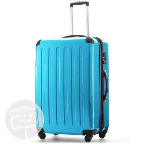 preiswerter koffer alex 3er set cyanblau blau hochglanz. Black Bedroom Furniture Sets. Home Design Ideas