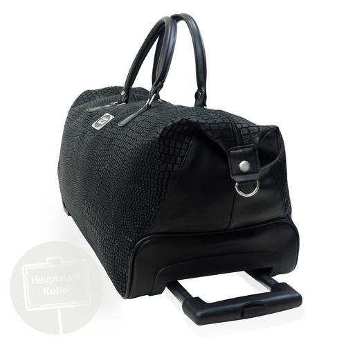 preiswerter reisetasche mit rollen 55 l. Black Bedroom Furniture Sets. Home Design Ideas