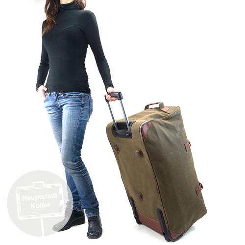 preiswerter Reisetasche mit Rollen 108 l braun