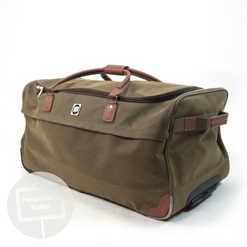 Hauptstadtkoffer Reisetasche mit Rollen 108 l braun